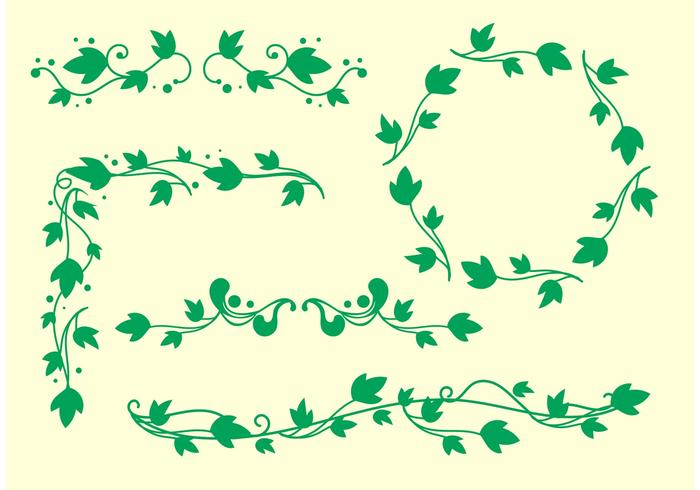 700x490 Simple Ivy Vine Vectors