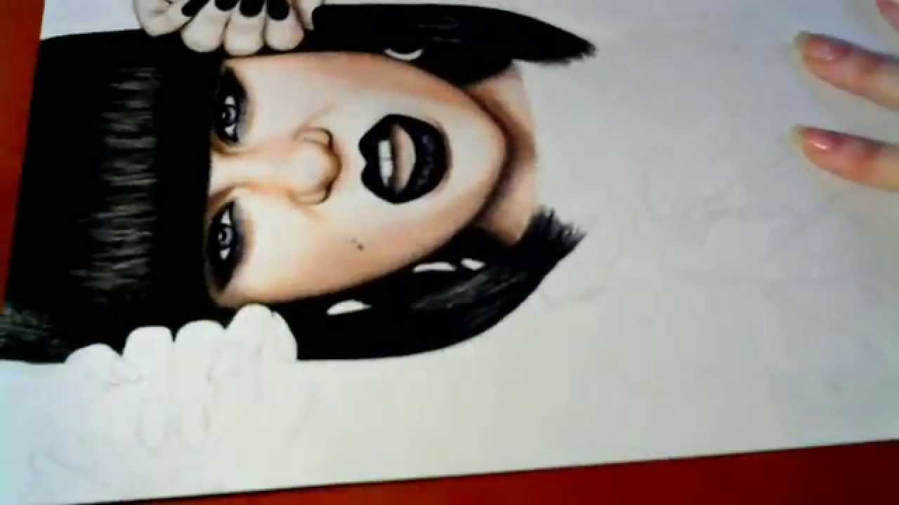 1280x720 Jessie J Drawing