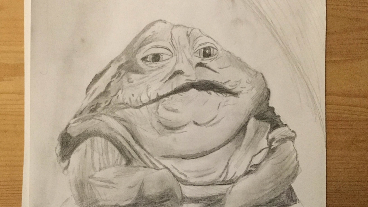 1280x720 How To Draw Jabba The Hutt