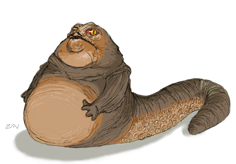 800x555 Jabba The Hutt By Monkeyzav