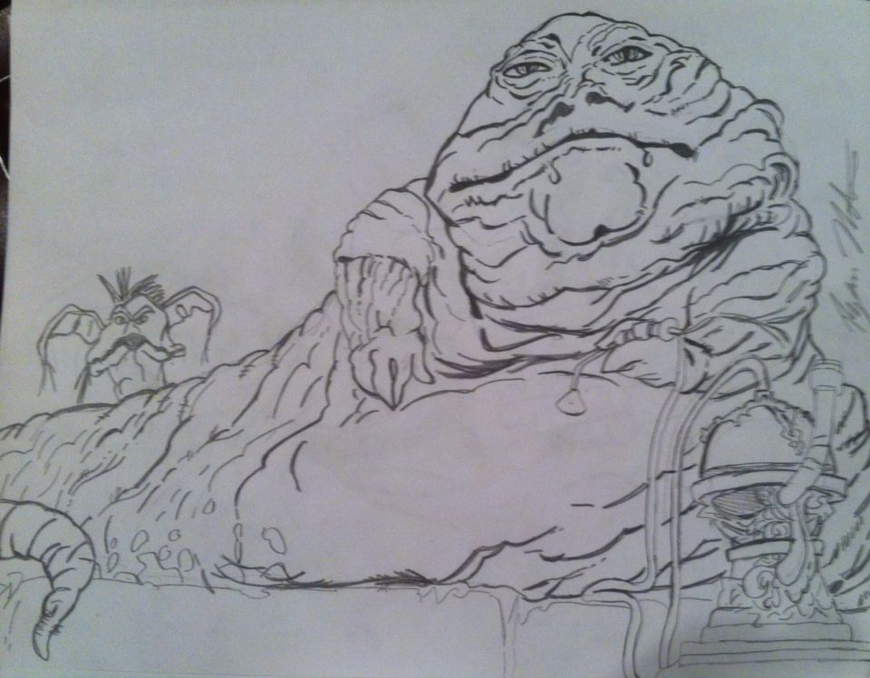 960x748 Jabba The Hutt From Star Wars Episode Vi The Return Of The Jedi