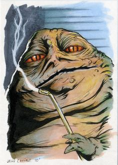 236x331 Original Jabba The Hutt Drawing Used In Gag! Magazine By Randy