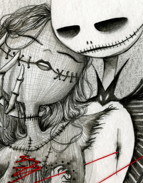 Jack And Sally Drawing at GetDrawings   Free download