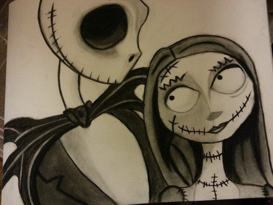 900x675 Jack And Sally By Adamon04