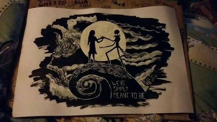 900x506 We Can Live Like Jack And Sally If We Want. By Lich Draw