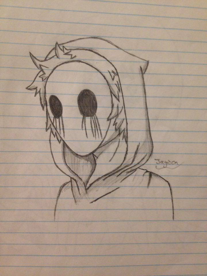 720x960 Eyeless Jack Drawing By Chibi Lover 1987