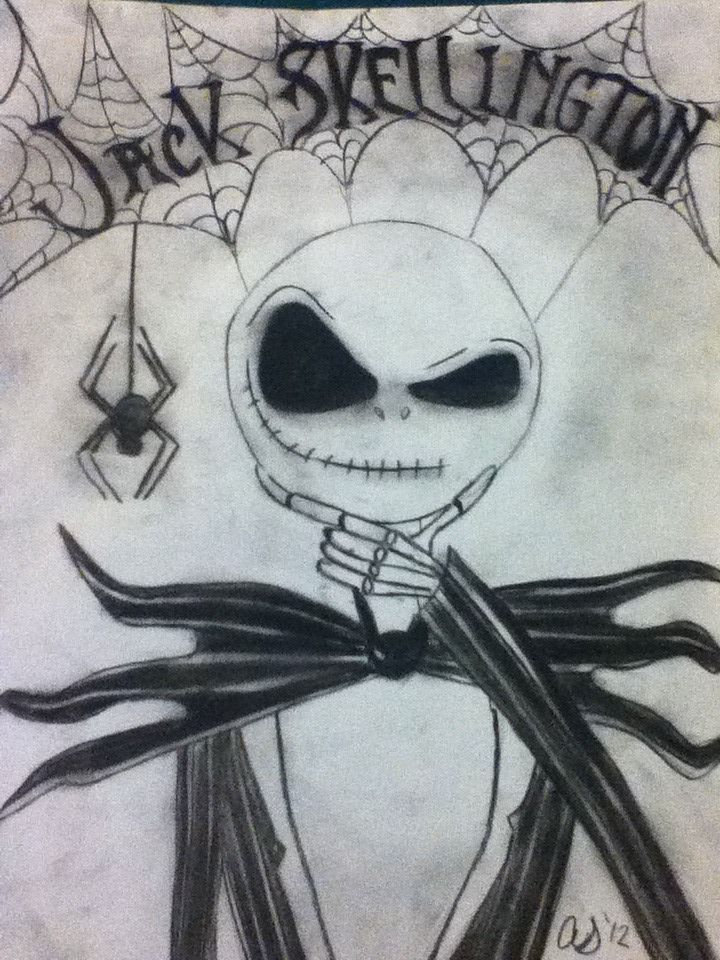 720x960 Jack Skellington Charcoal Drawing By Daisy1357911 D5eijma.jpg (720