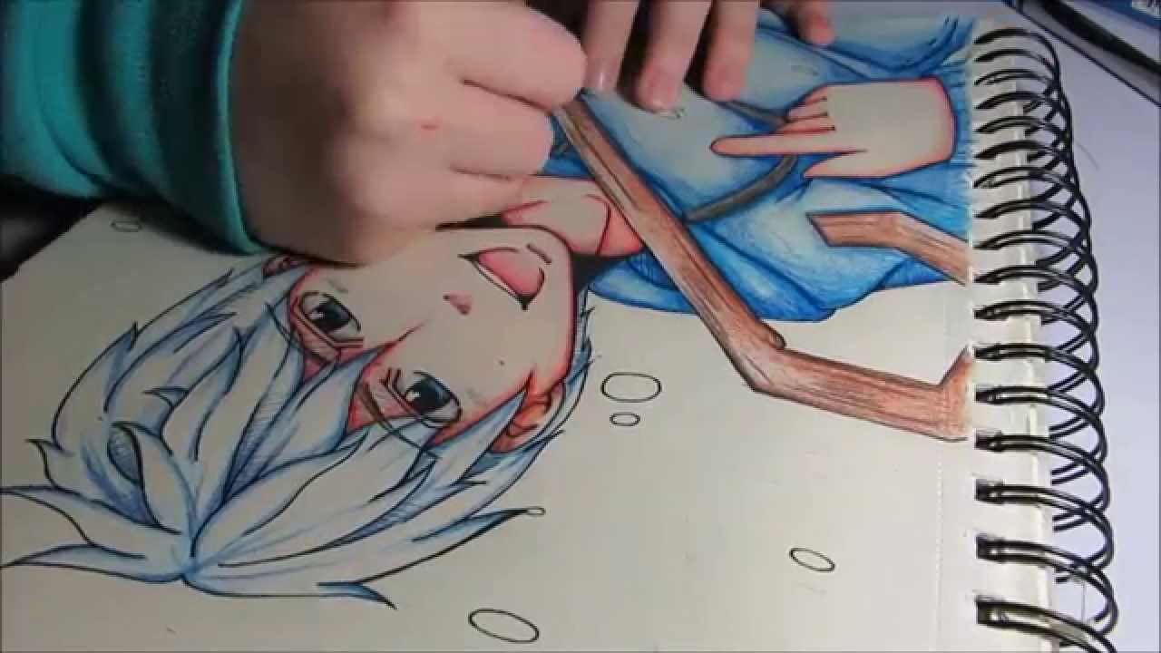 1280x720 Christmas Jack Frost Speed Drawing