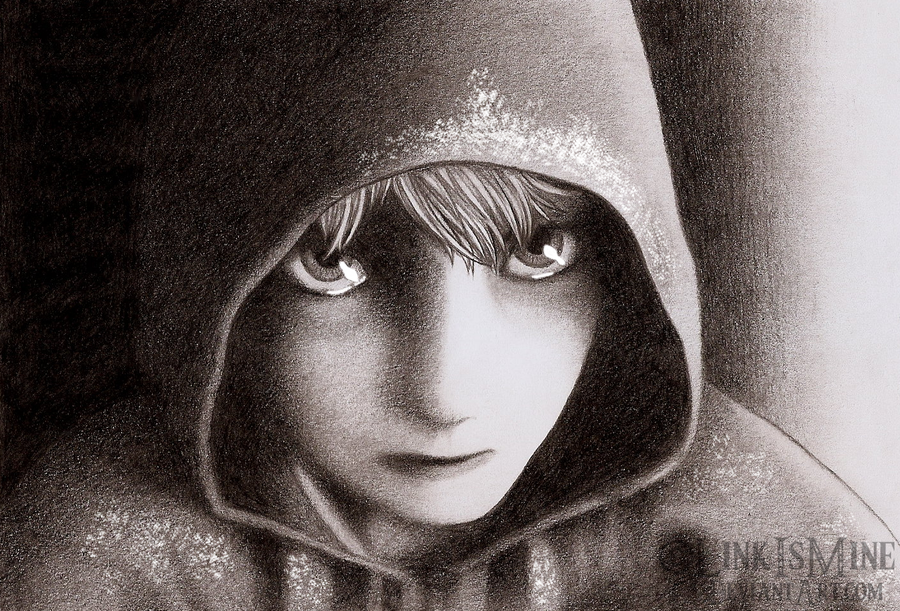 900x611 Jack Frost Pencil Drawing By Linkismine
