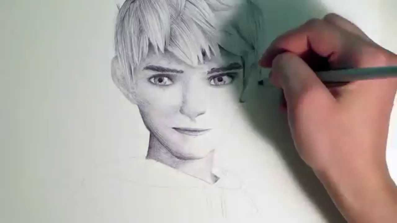 1280x720 Jack Frost Speed Drawing