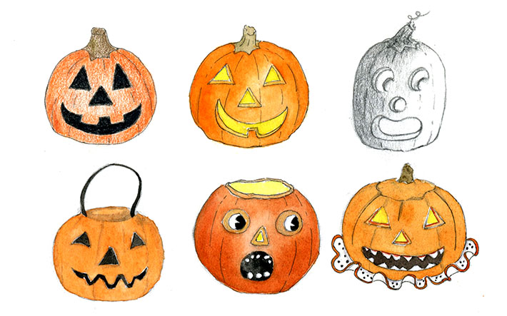 jack o lantern drawing at getdrawings com free for personal use