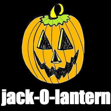 375x375 How To Draw Jack O'Lanterns And Pumpkins With Easy Step By Step