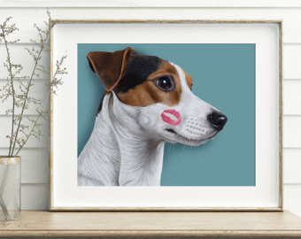 340x270 Jack Russell Drawing Etsy