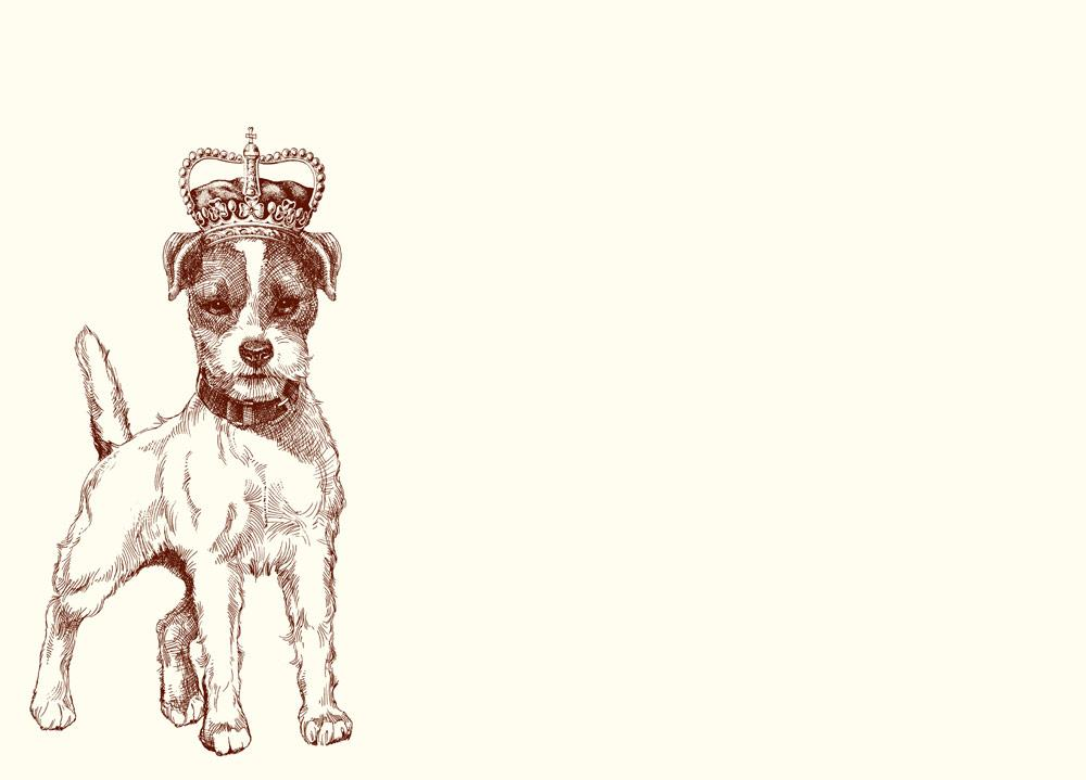 1000x719 Royal Jack Russell Terrier A6 Note Alexa Pulitzer