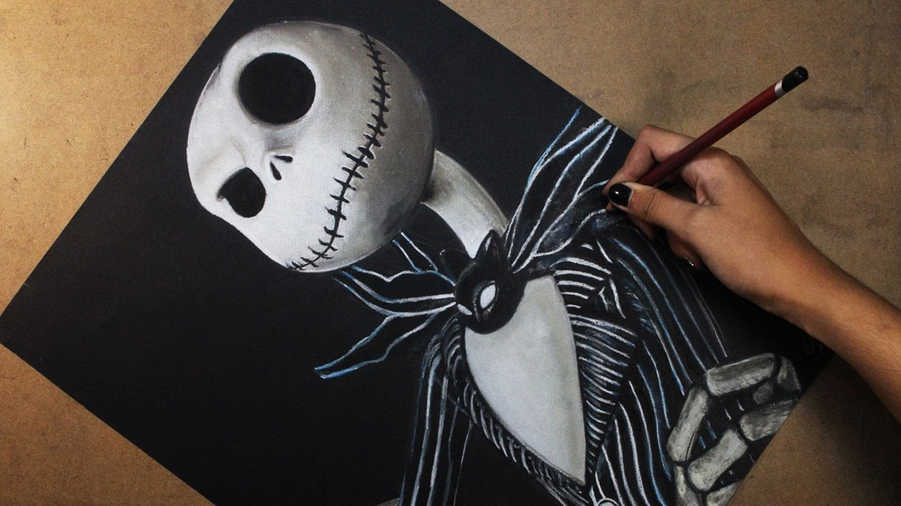Jack Skeleton Drawing at GetDrawings.com   Free for personal use ...