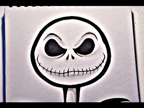 480x360 How To Draw Jack Skellington