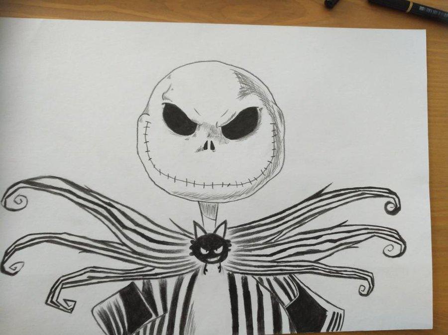 900x673 Jack Skellington Drawing By Laco13