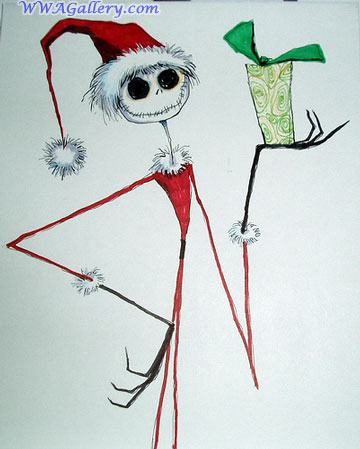 360x449 Nightmare Before Christmas Characters Drawings Character Drawing