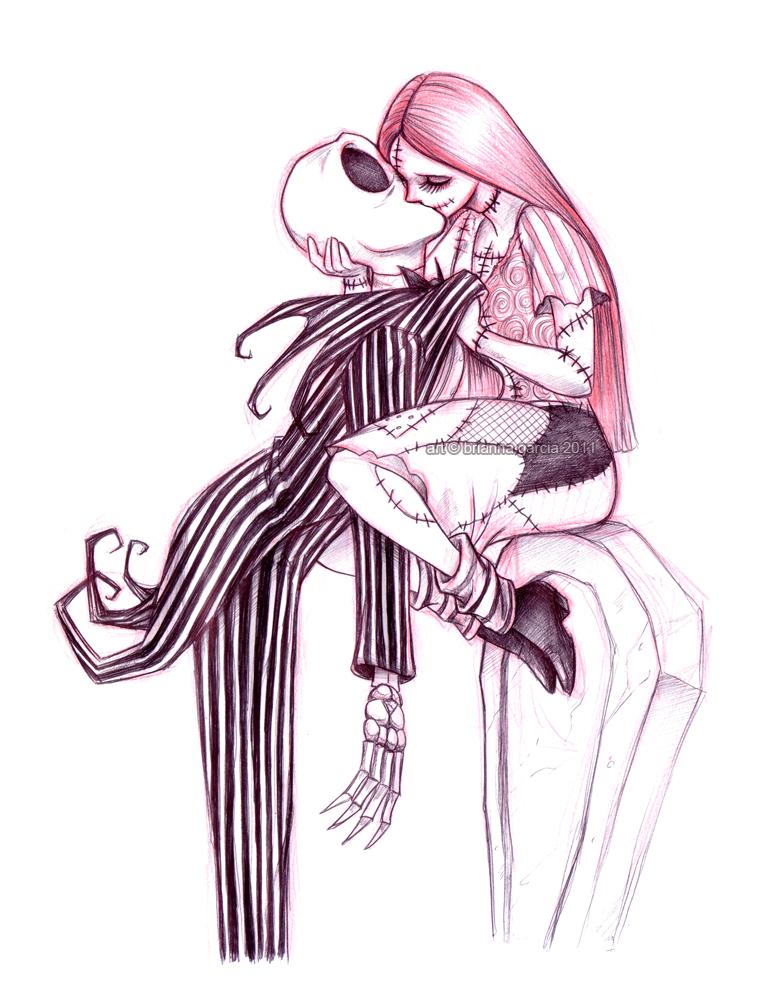782x1000 Jack Skellington And Sally Drawings