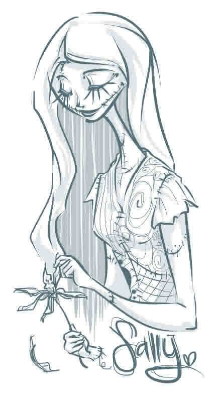 436x790 Nightmare Before Christmas Pin Up