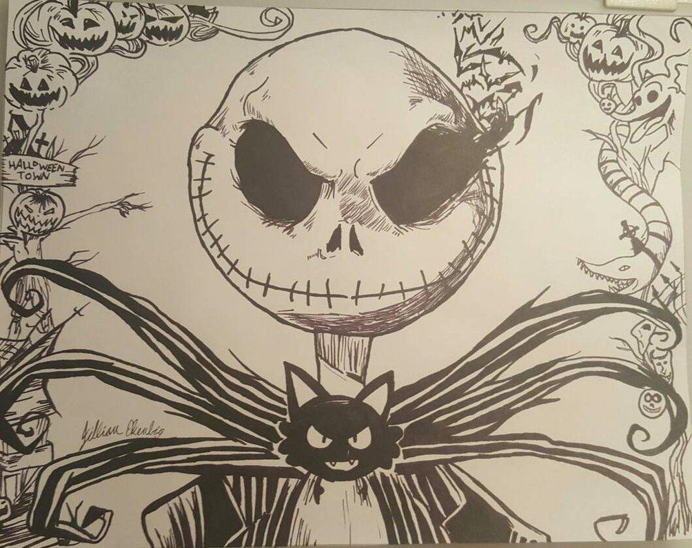 1004x796 Jack The Pumpkin King By Ekenbjil
