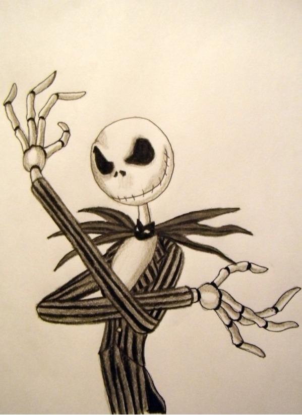 599x821 The Nightmare Before Christmas, Jack Skellington Drawings
