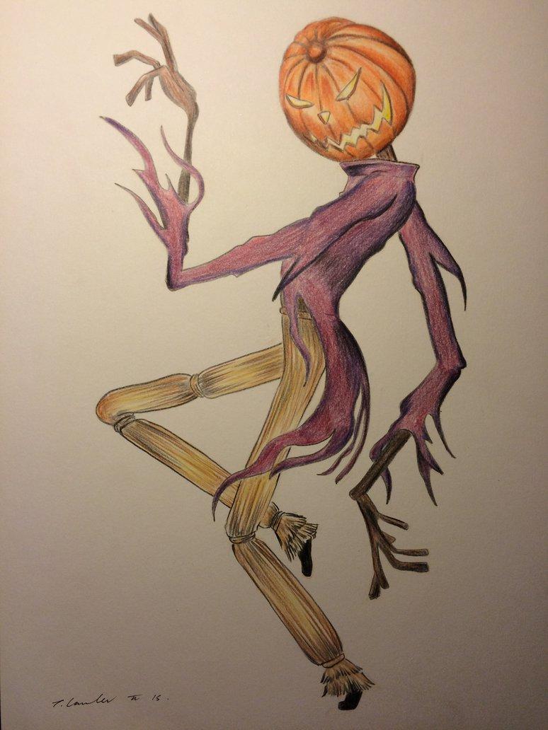 774x1032 The Pumpkin King Jack Skellington Drawing By Billyboyuk