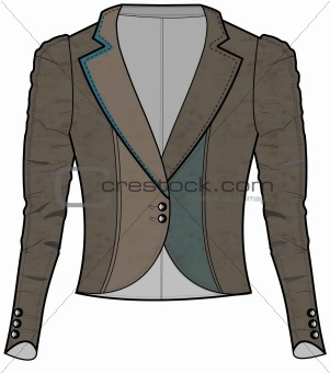 301x340 Image 3452332 Jacket Fashion Drawing From Crestock Stock Photos