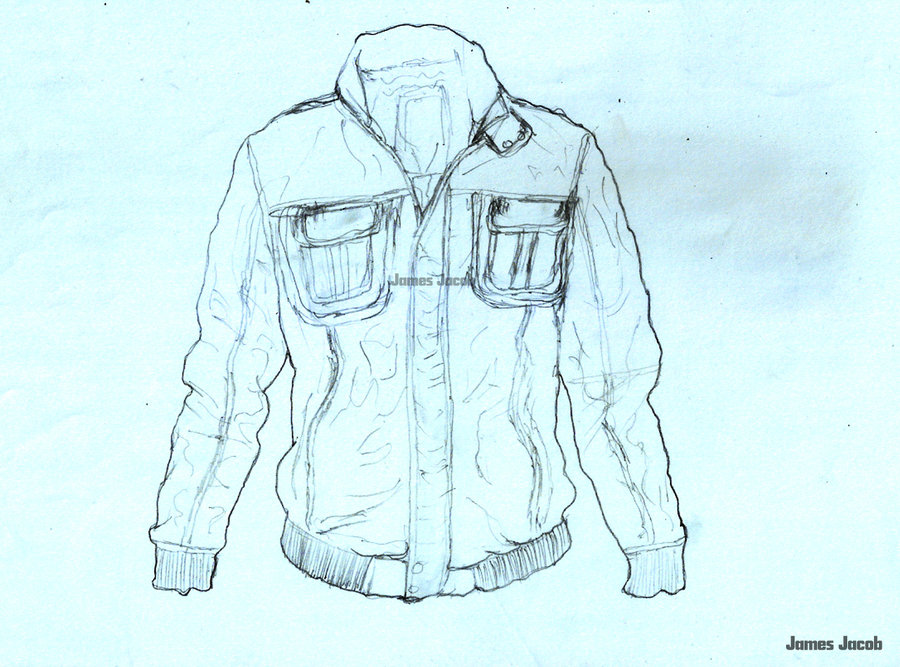900x667 January 2013 Daily Drawing 11 Leather Jacket Wip A By Jamesjacobk