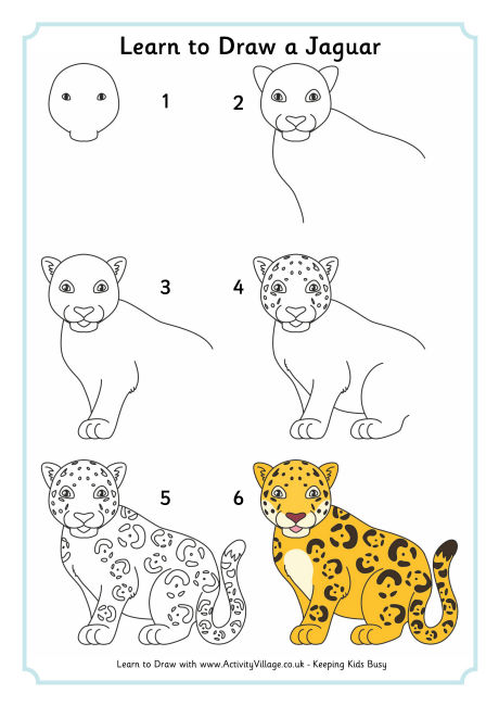 460x650 Learn To Draw A Jaguar 460 0