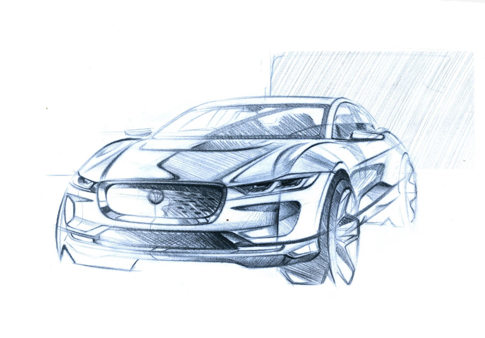 1600x1114 Jaguar I Pace Design Sketch