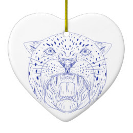 260x260 Jaguar Head Ornaments Amp Keepsake Ornaments Zazzle