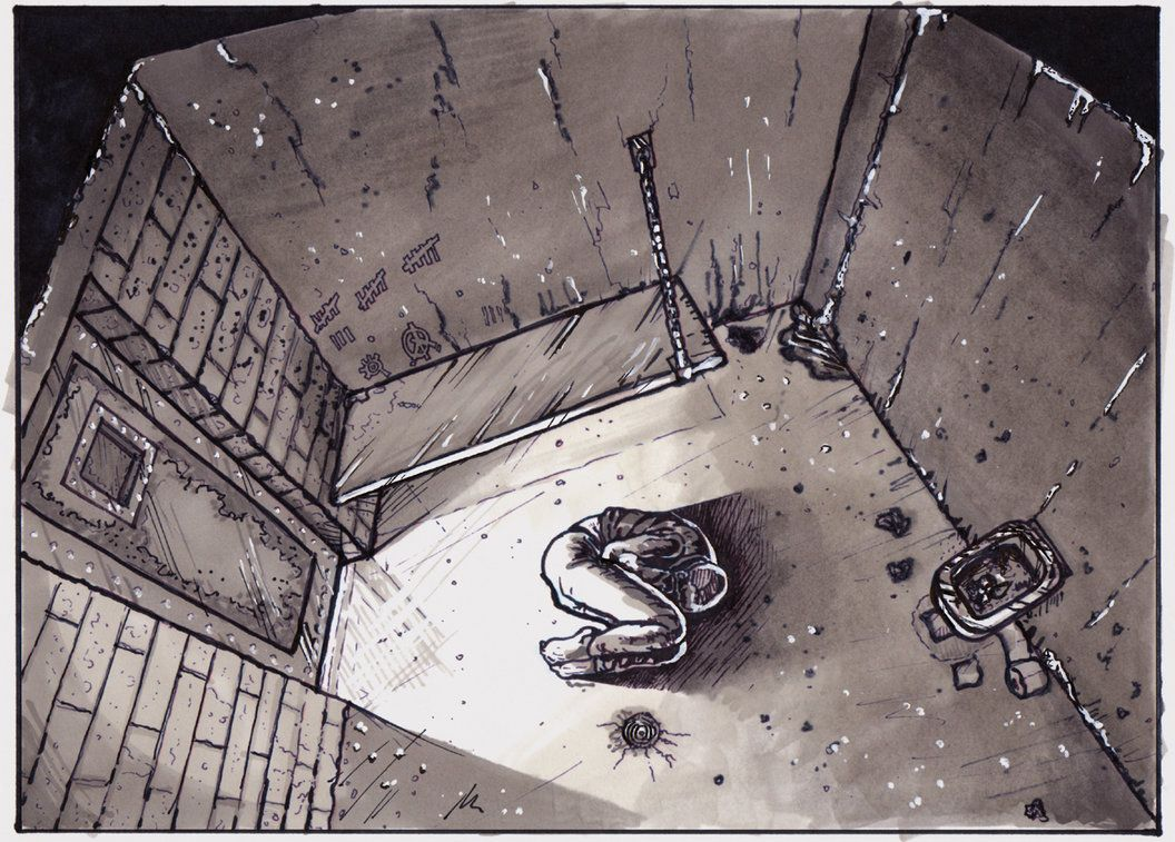 1056x757 Jail Cell 1of 2 By On @