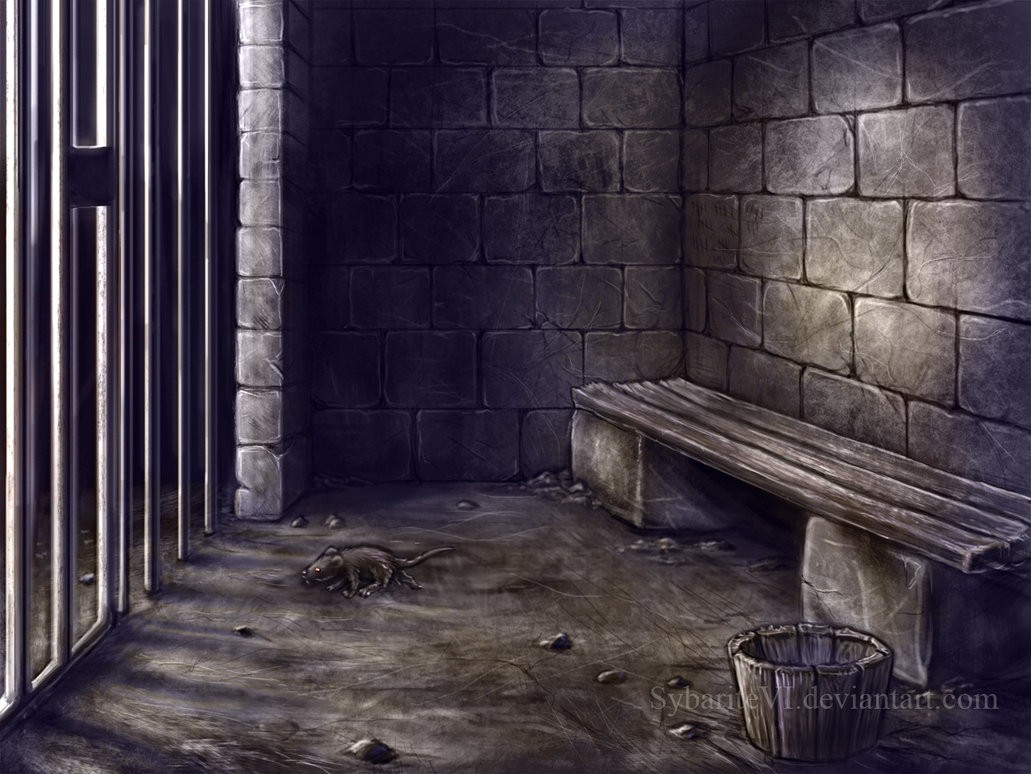 1031x774 Prison Cell Concept By Sybaritevi