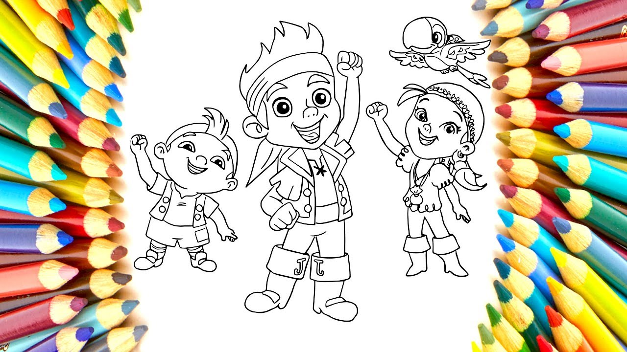 1280x720 How To Draw Jake And The Neverland Pirates