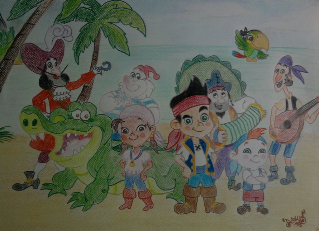 1024x742 Jake And The Neverland Pirates By Danlos