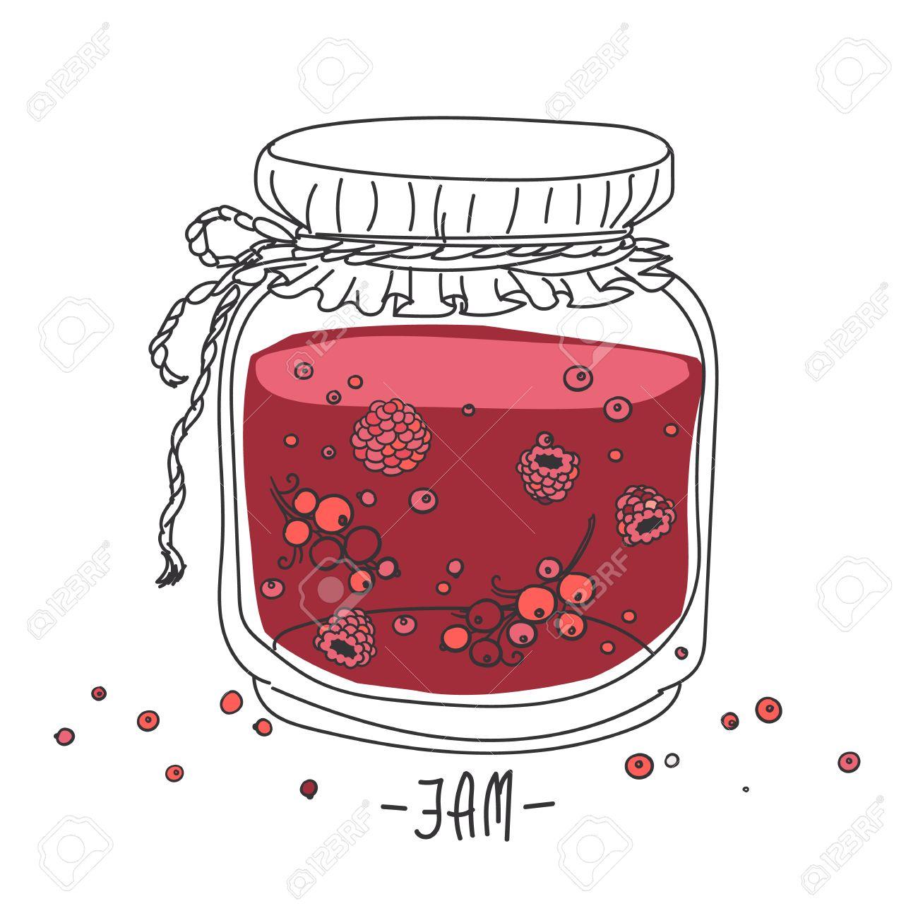 1300x1300 Cartoon Jam Jar