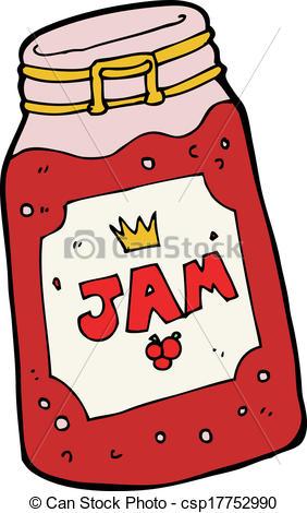 282x470 Cartoon Jar Of Jam Eps Vectors