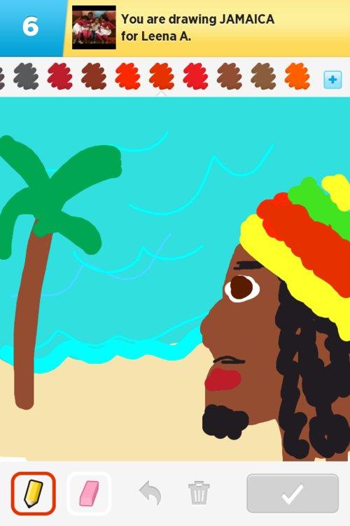 500x750 Jamaica Drawings