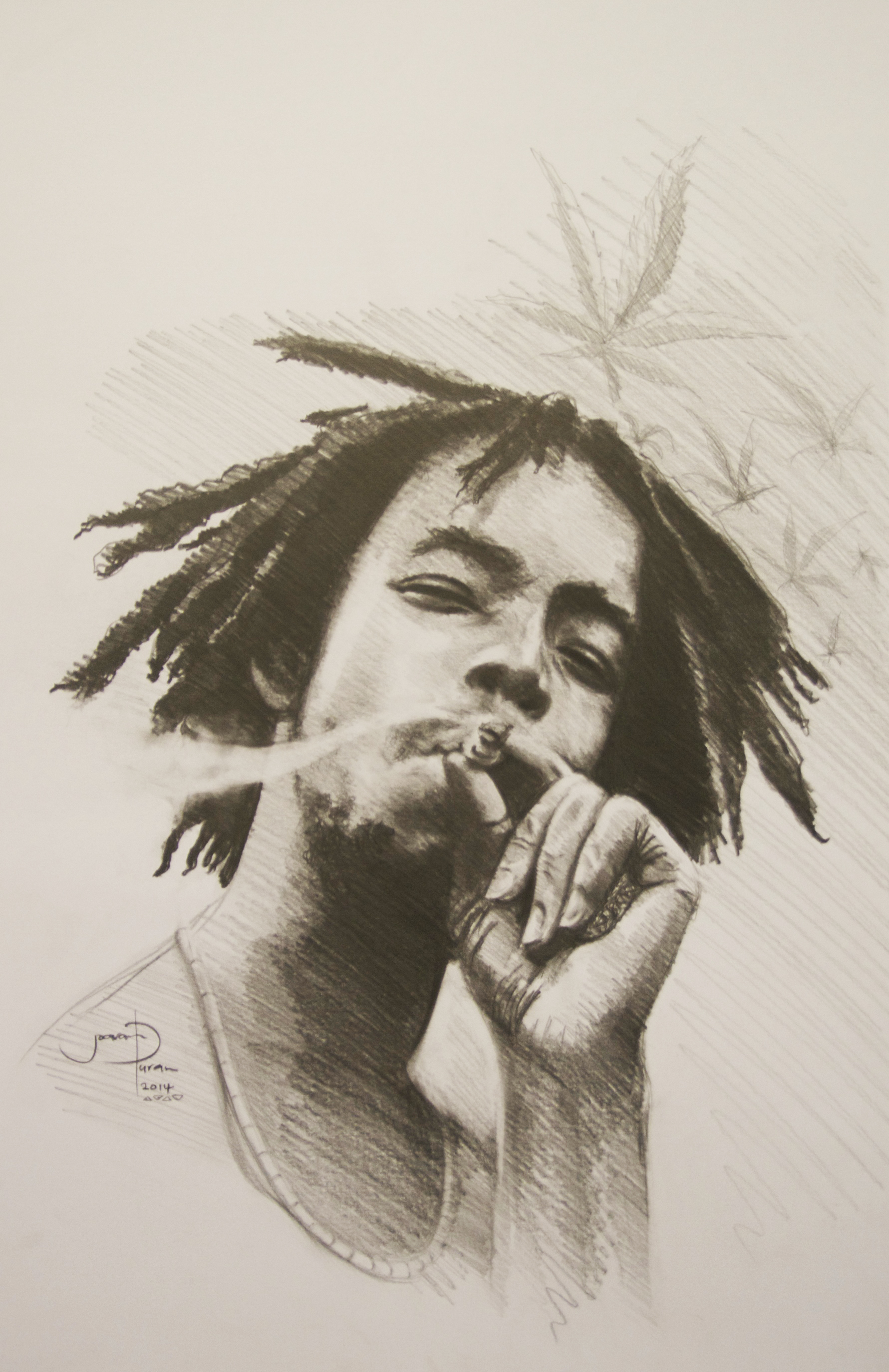1781x2749 Carbon Drawing Of Peter Tosh. Reggae Icon. Jamaica Roots