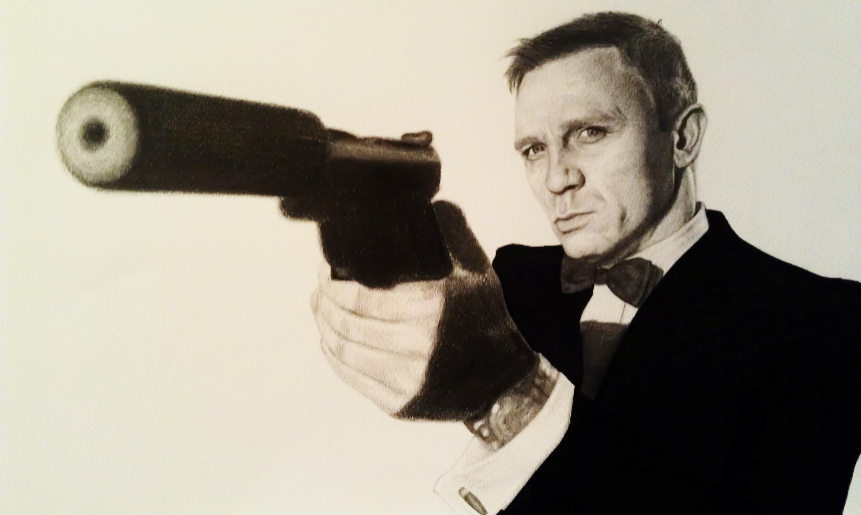 3264x1952 Bond 007 By Iakko92