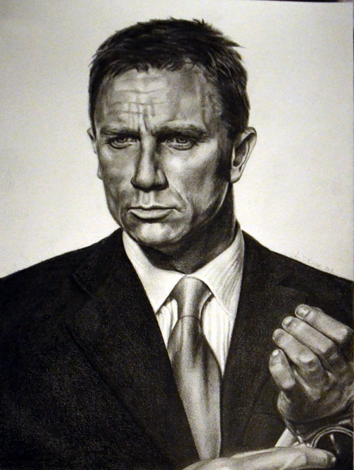 500x665 Daniel Craig As James Bond