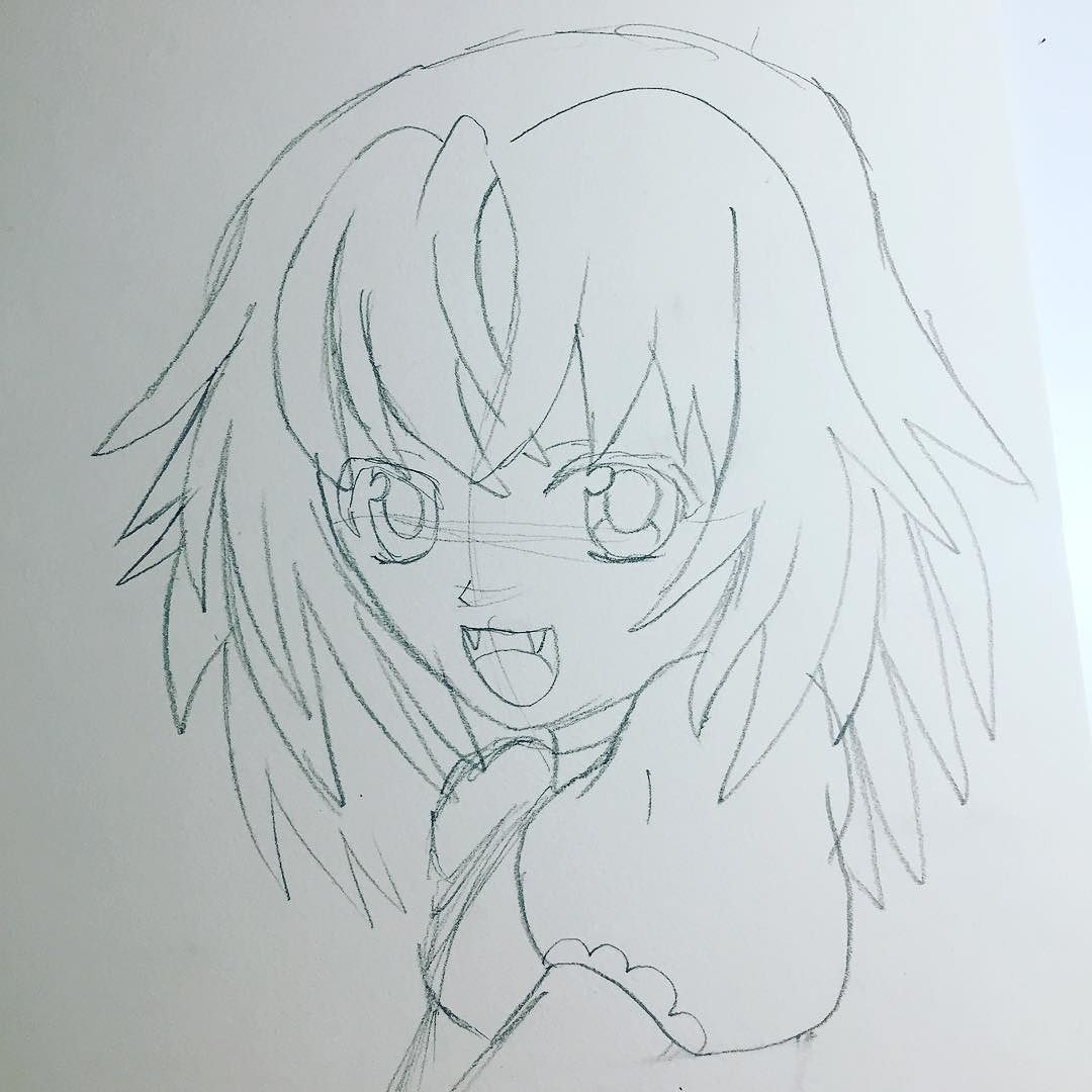 1080x1080 A Basic Sketch For My Next Drawing