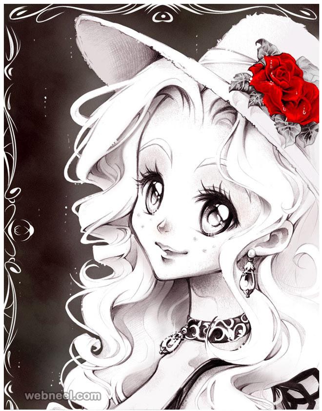 660x841 Beautiful Japanese Manga Girls Boys And Cartoon Characters