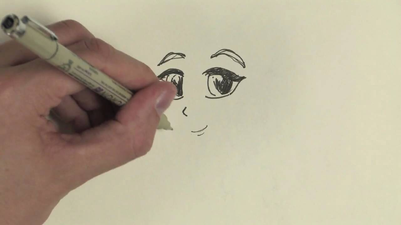 1280x720 Drawing Cartoons Amp Fashion How To Draw Manga