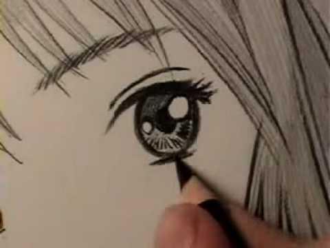 480x360 How To Draw A Manga Eye, Line By Line