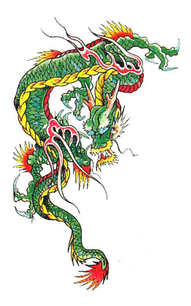624x1000 Chinese Dragons