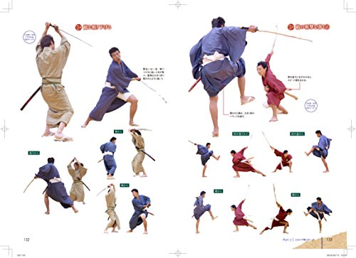 500x363 How To Draw Fighting Japanese Kimono Men's Pose Collection Book