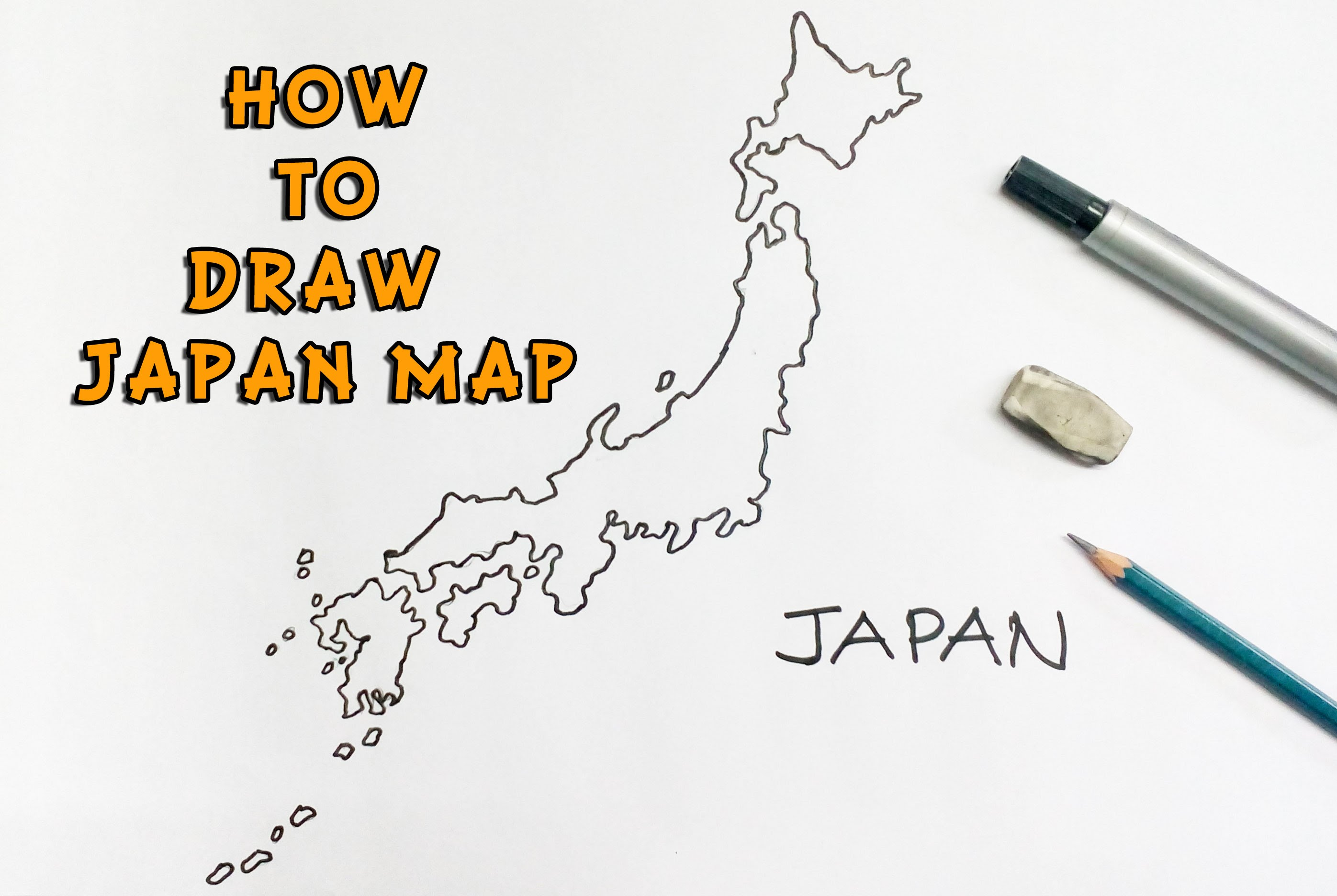 2793x1872 Japan Map Drawing My Blog