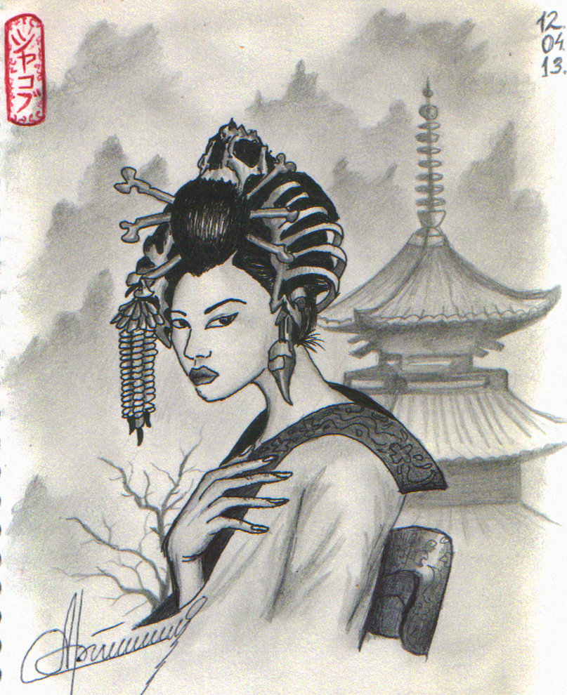 807x990 Geisha, Japan By Orlan 21